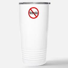Nebraska Stainless Steel Travel Mug