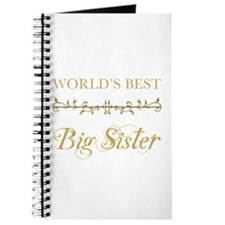 Elegant World's Best Big Sister Journal