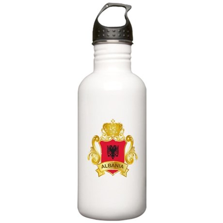 Gold Albania Stainless Water Bottle 1.0L