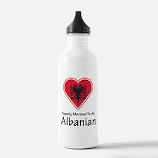 Happily Married Albanian Water Bottle