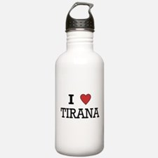 I Love Tirana Water Bottle