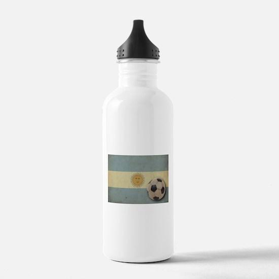 Vintage Argentina Flag Water Bottle