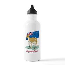 Australia Kangaroo Water Bottle