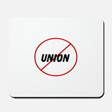 no union Mousepad