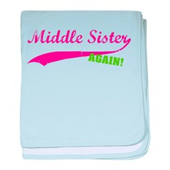Middle Sister Again baby blanket
