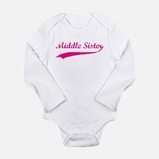 Middle Sister Long Sleeve Infant Bodysuit