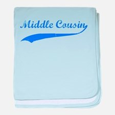 Middle Cousin baby blanket