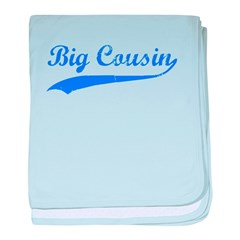 Big Cousin baby blanket