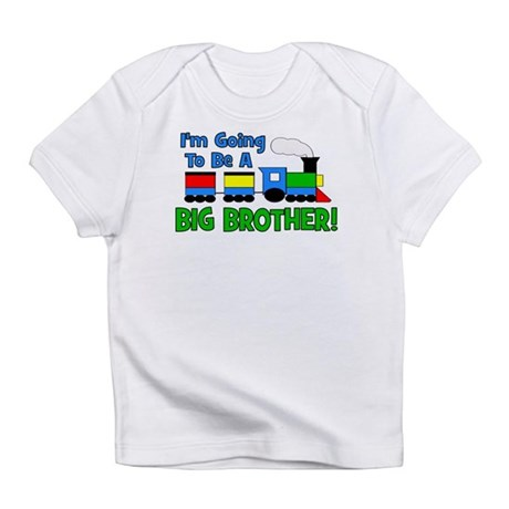 Big Brother To Be TRAIN Infant T-Shirt
