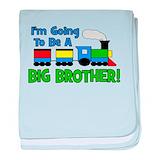 Big brother trains Blanket