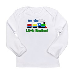Little Brother TRAIN Long Sleeve Infant T-Shirt