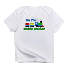 Middle Brother TRAIN Infant T-Shirt