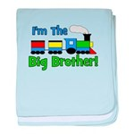 Big Brother TRAIN baby blanket