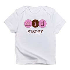 Mid Sister (Middle Sister Cir Infant T-Shirt