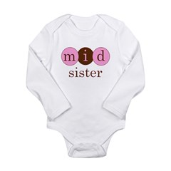 Mid Sister (Middle Sister Cir Long Sleeve Infant B