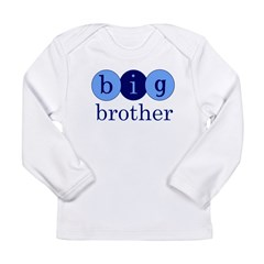 Big Brother (Circles) Long Sleeve Infant T-Shirt