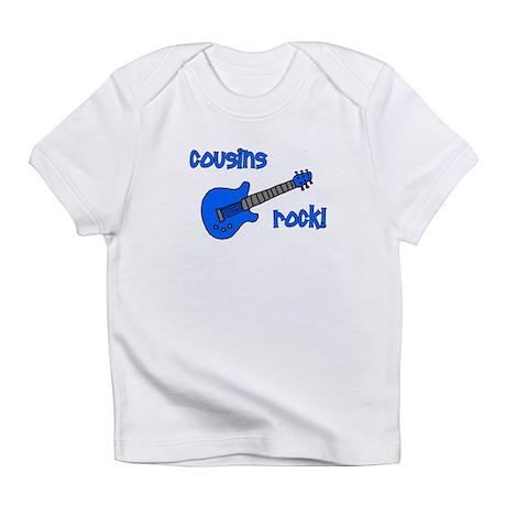 Cousins Rock! Blue Guitar Infant T-Shirt