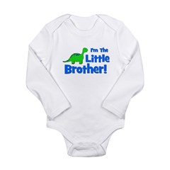 I'm The Little Brother! Dinos Long Sleeve Infant B