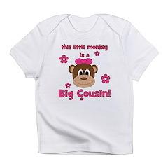 Little Monkey Is Big Cousin! Infant T-Shirt