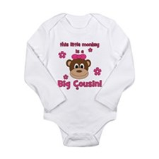 Little Monkey Is Big Cousin! Baby Outfits