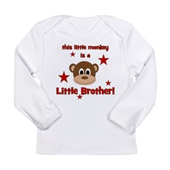 Little Monkey Is Little Broth Long Sleeve Infant T