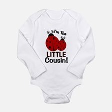 I'm The LITTLE Cousin! Ladybu Baby Outfits