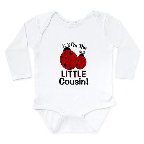 I'm The LITTLE Cousin! Ladybu Long Sleeve Infant B