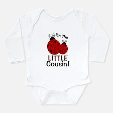 I'm The LITTLE Cousin! Ladybu Onesie Romper Suit