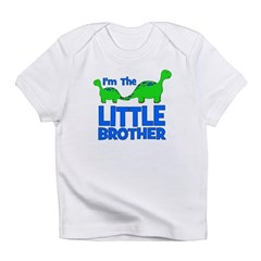 I'm The LITTLE Brother! Dinos Infant T-Shirt
