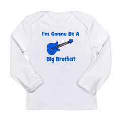 Gonna Be Big Brother - Blue G Long Sleeve Infant T