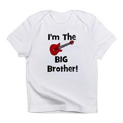 I'm the Big Brother (guitar) Infant T-Shirt
