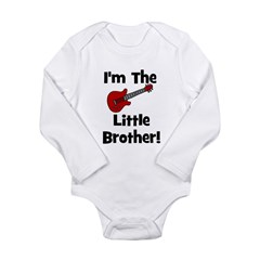 I'm The Little Brother (guita Long Sleeve Infant B