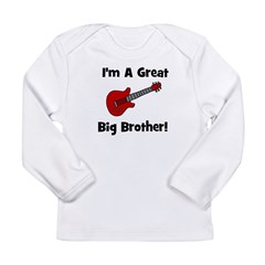 Great Big Brother (guitar) Long Sleeve Infant T-Sh