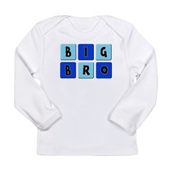 Big Bro Long Sleeve Infant T-Shirt