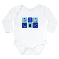 Big Bro Long Sleeve Infant Bodysuit