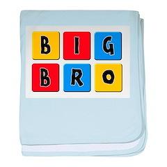Big Bro baby blanket