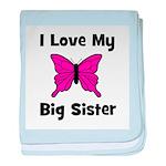 Love My Big Sister baby blanket