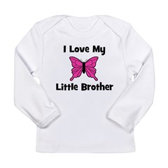 Love My Little Brother Long Sleeve Infant T-Shirt