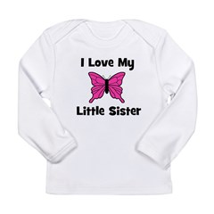 Love My Little Sister (butter Long Sleeve Infant T