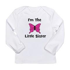 I'm The Little Sister (butter Long Sleeve Infant T