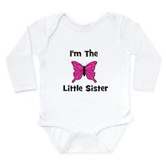 I'm The Little Sister (butter Long Sleeve Infant B