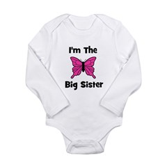 I'm The Big Sister (butterfly Long Sleeve Infant B