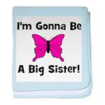 Gonna Be Big Sister (butterfl baby blanket