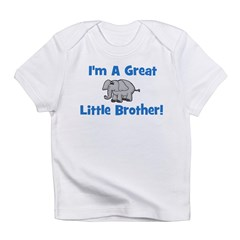 Great Little Brother (elephan Infant T-Shirt
