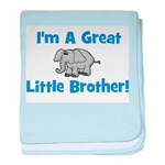 Great Little Brother (elephan baby blanket