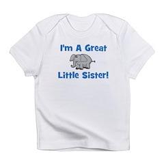 Great Little Sister (elephant Infant T-Shirt