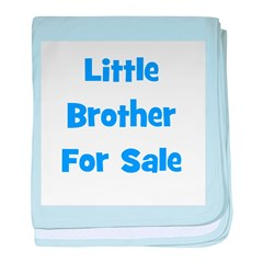 Little Brother For Sale baby blanket