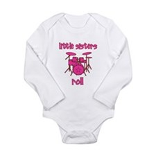 Little Sisters Roll! Drum Baby Outfits