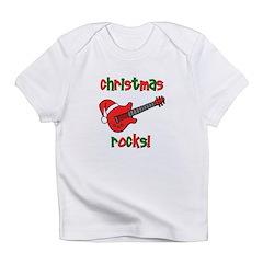 Christmas Rocks! Guitar Santa Infant T-Shirt