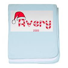 Avery - Santa Hat baby blanket